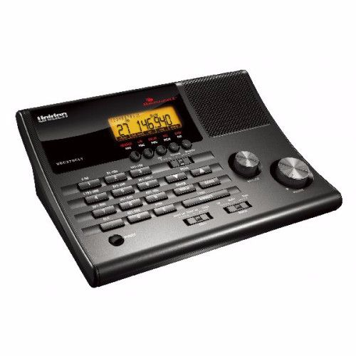 UNIDEN UBC370CLT BASE SCANNER WITH CLOCK RADIO 25MHz TO 960MHz  500 CHANNEL