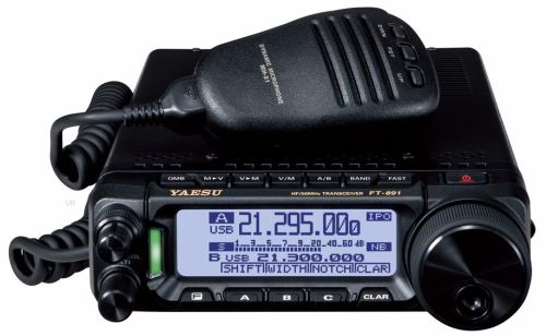 FT-891 HF/6M 100W Compact Multimode Mobile/Base Station Radio