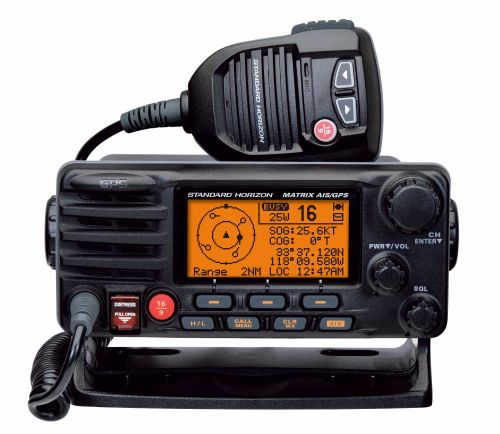 GX2200E Matrix AIS/GPS DSC Class D transceiver with dual channel AIS Receiv