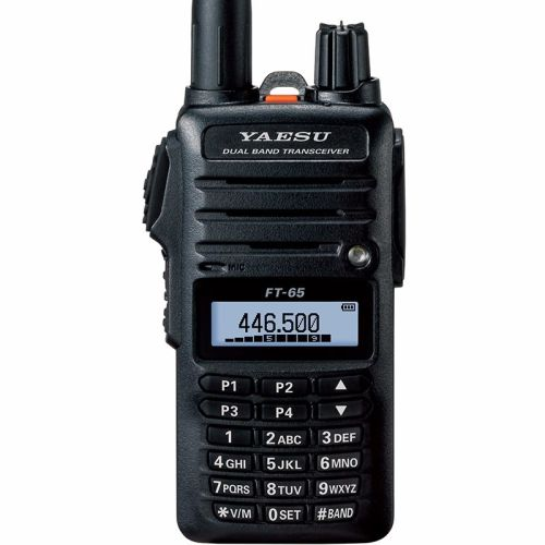 FT-65E VHF/UHF Dual Band 5W FM Handheld Transceiver