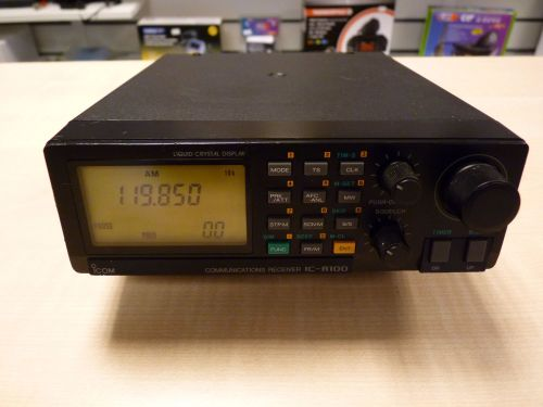 ICOM IC-R100 WIDEBAND RECEIVER/SCANNER  0.1 - 1856MHz