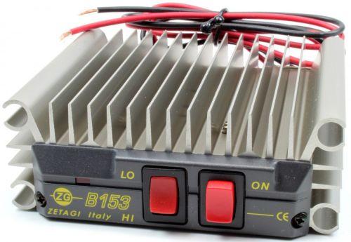 ZETAGI B153 MOSFET AMPLIFIER 100W AM/FM  200W SSB MAXIMUM.