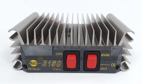 ZETAGI B150R POWER AMPLIFIER - 100W AM/FM  200W SSB MAXIMUM.