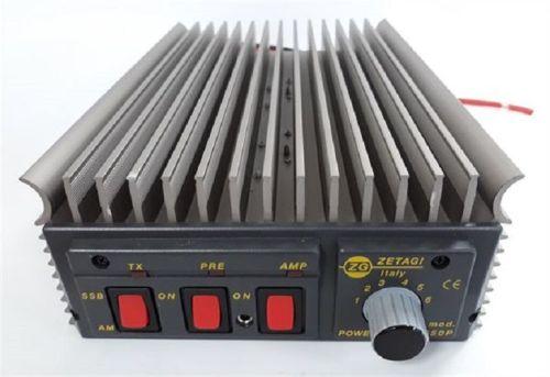 ZETAGI B550P POWER AMPLIFIER 300W AM/FM,600W SSB MAXIMUM + PREAMPLIFIER