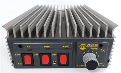 ZETAGI B501P POWER AMPLIFIER 70-250W AM/FM 140-500W SSB