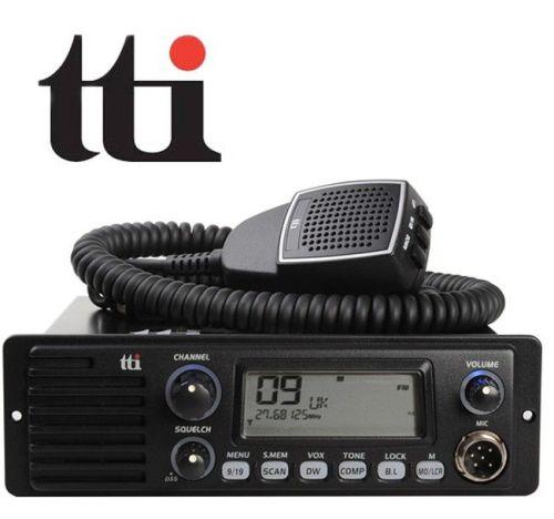 TTI TCB-1100 CB Radio Multi-standard Front Speaker/Din Mount