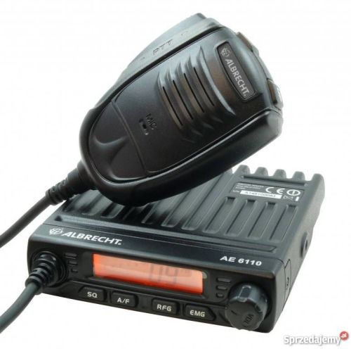 ALBRECHT AE-6110 MULTI STANDARD AM/FM CB RADIO