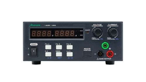 MANSON KPS-6602 Laboratory Power Supply 1-32V DC / 0-30 A