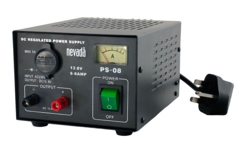NEVADA PS-08  6-8 AMP LINEAR POWER SUPPLY