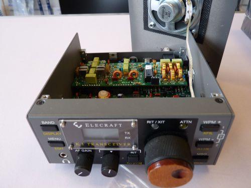 ELECRAFT K1 CW TRANSCEIVER (BUILT)