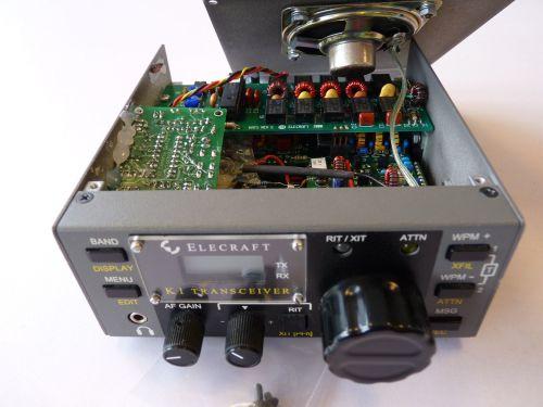 ELECRAFT K1 CW TRANSCEIVER WITH ATU (BUILT)