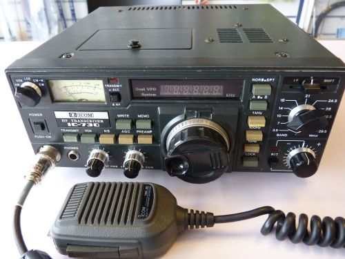 ICOM IC-730 100W HF TRANSCEIVER