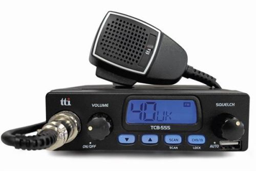 TTI TCB-555 COMPACT 12V MOBILE CB RADIO WITH USB SOCKET