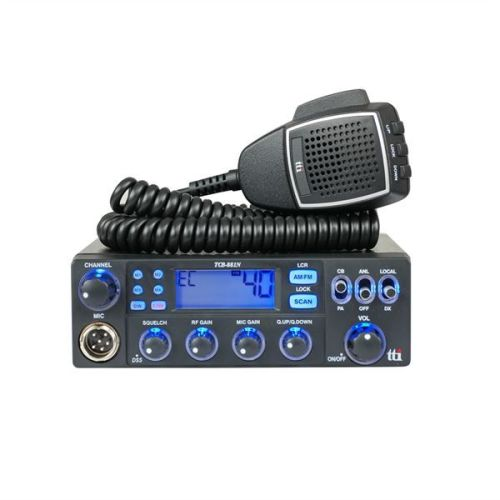 TTI TCB-881N MOBILE CB RADIO (MULTI-STANDARD) 12-24V