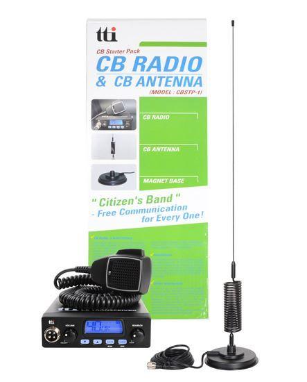 TTI CB STARTER PACK ONE (TCB555 + MAGNETIC ANTENNA)