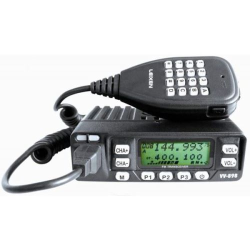 LEIXEN VV-898S 25W VERSION DUAL BAND MOBILE TRANSCEIVER
