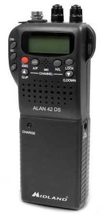 MIDLAND 42DS UK HANDHELD CB RADIO WITH DIGITAL SQUELCH