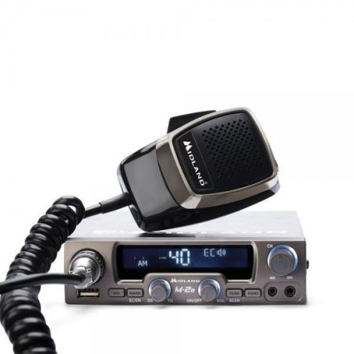 MIDLAND M-20 MOBILE CB RADIO WITH USB