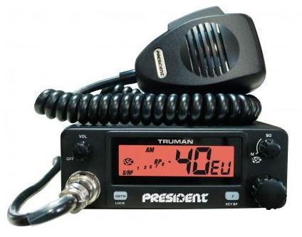 PRESIDENT TRUMAN MOBILE AM/FM CB RADIO