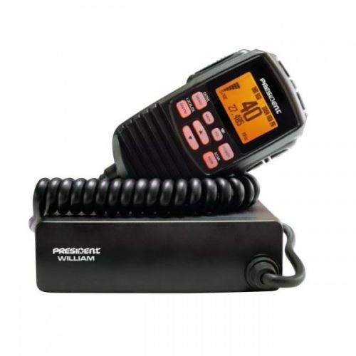 PRESIDENT WILLIAM MOBILE CB TRANSCEIVER