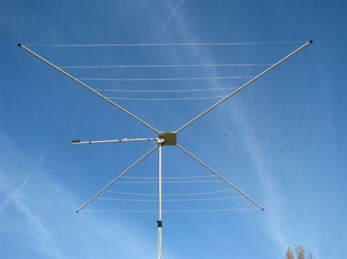 MFJ-1836H - Cobweb,6 Band,6/10/12/15/17/20M,1.5KW