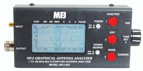 MFJ-225 - 1.8-170 MHz Graphic Antenna Analyzer