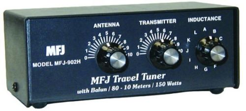 MFJ-902H - Travel tuner 10-80M, 150W with balun