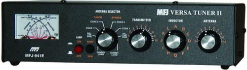 MFJ-941E - 1.8-30 MHz 300W Versa Tuner
