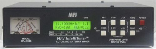 MFJ-993B - 300/150W Deluxe HF Automatic Tuner