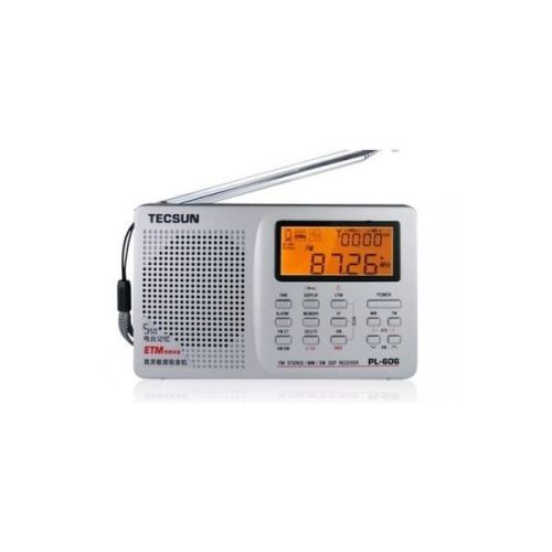 TECSUN PL-606 WORLD BAND RADIO  ETM ATS DSP RECEIVER FM/LW/AM/SW