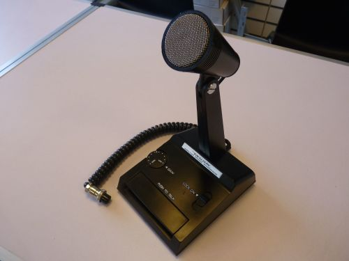 REALISTIC AMPLIFIED DYNAMIC MICROPHONE