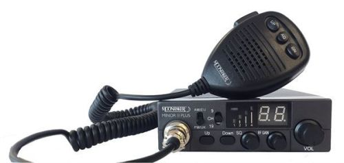 MOONRAKER MINOR PLUS 80CH DUAL VOLTAGE MOBILE CB RADIO