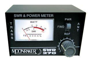 MOONRAKER SWR-270 DUAL BAND SWR/PWR METER