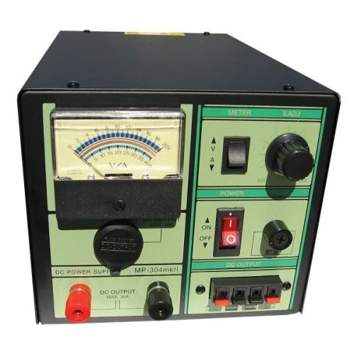 MYDEL MP-304MK2 30 AMP LINEAR POWER SUPPLY