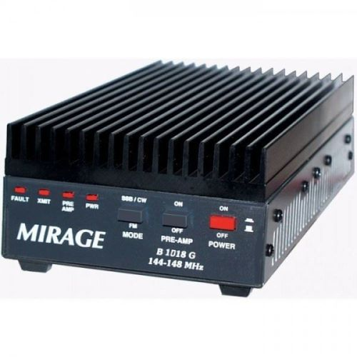 MIRAGE B-1018G VHF AMP 10W IN-160W OUT 144-148MHZ