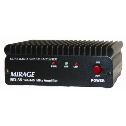 MIRAGE BD-35 DUAL BAND 144/440 HT AMP, 45/35W OUT