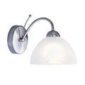 Milanese wall light Satin Silver  1131-1SS