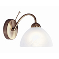 Milanese wall light Antique Brass  1131-1AB