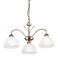 Milanese Pendant Antique Brass  1133-3AB