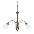 Petal ceiling pendant Antique Brass  4903-3AB