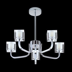 Katina Ceiling Light Chrome 6835-5CC