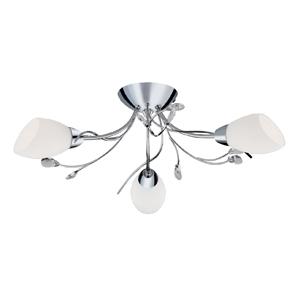 Gardenia 3 Lamp Ceiling Fitting Chrome 1763-3CC
