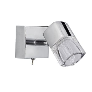 Blocs Single Wall Light Chrome 9881CC