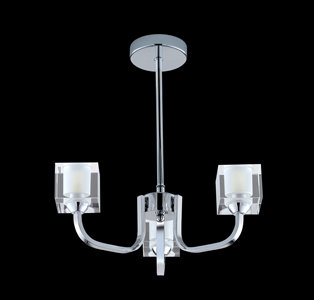 Katina Ceiling Light Chrome 6833-3CC