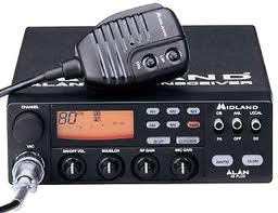 Midland Alan 48 Plus Mobile CB Radio Multi-standard 13.8V