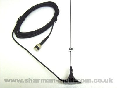 EX211UV 2M/70CM Dual Band Magnetic Mount Antenna