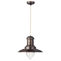 Fisherman Brown Gold Pendant 4301BG