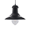 Fisherman Antique Black Pendant 4301BK