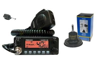 President Harry III Mobile CB Radio Multi-channel 13.8V + KM-500 + SW-725
