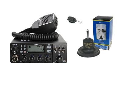 TTI TCB-881 Mobile CB Radio Multi-standard 12/24V + KM-500 + SW-725